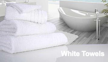 luxury white towels, budget white towels, white gym towels, white bathrobes, white bath mats, white bath towels